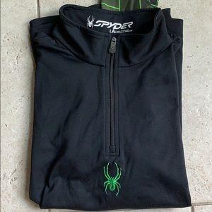 Boys long sleeve base-layer, Spyder, large